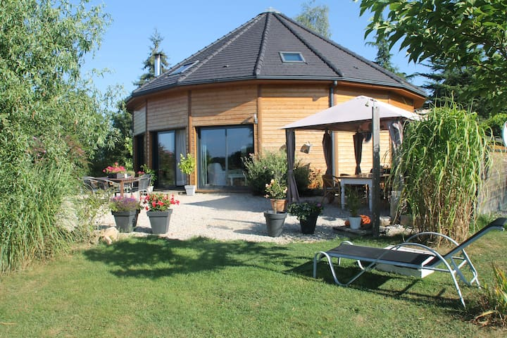 La Maison Ronde - Saint-Martin-la-Méanne - Prázdninový dům