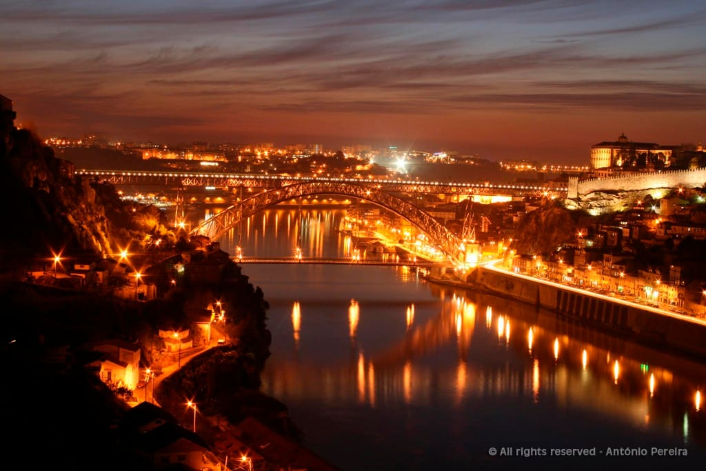 Night View Douro River