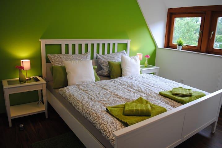 Schönes DZ (Nr. 2)  in Zentru(SENSITIVE CONTENTS HIDDEN)ähe und Naturnah - Detmold - Apartment
