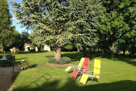 Chambre dans maison de charme 30mn de Giverny - Caillouet-Orgeville - Hospedaria