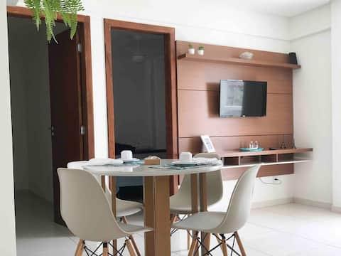 Apartamento aconchegante em Jockey de Itaparica