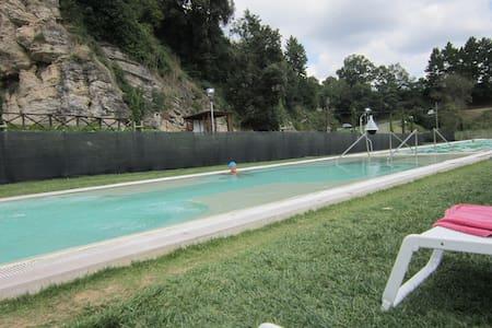 Appartamento con terrazza nel verde - Castelnuovo di Val di Cecina - Flat