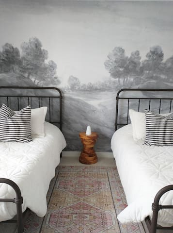 Two twin-bed room.