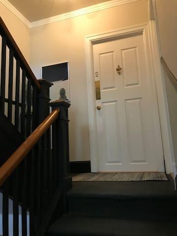 Entrée privée / Private entrance