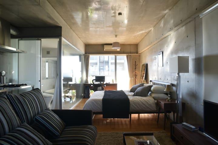 Luxury Apartment Ikebukuro, Comfortable balcony!