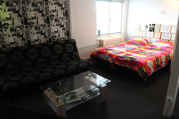 Uniek appartement (max 2 volwassenen, 3 kinderen)