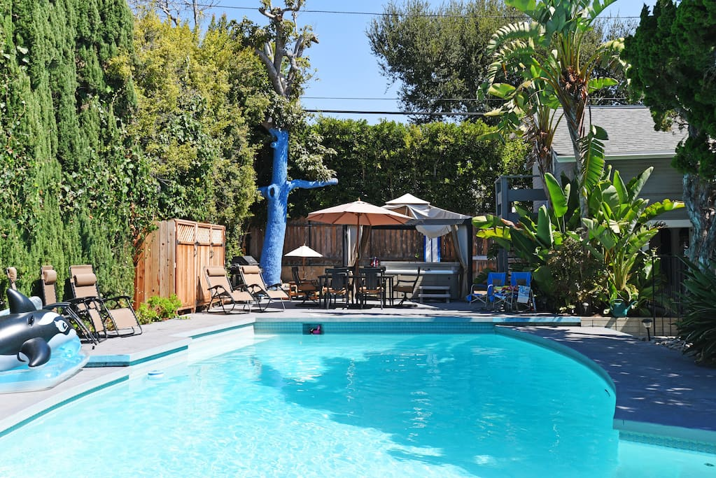 New Santa Monica Hseplus Poolhse Swim Pool Hot Tub Houses For Rent In Santa Monica California