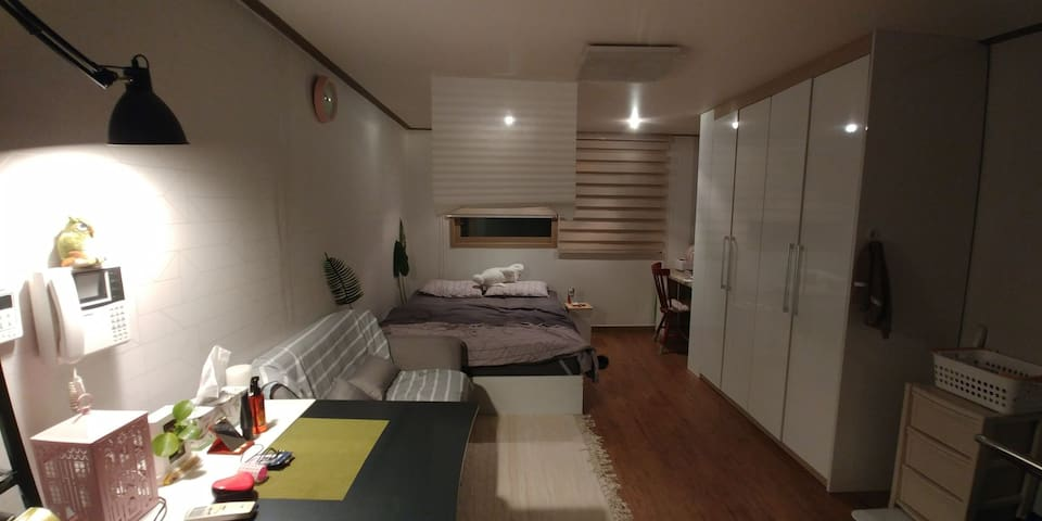 Cozy room for travel with friend & business trip.