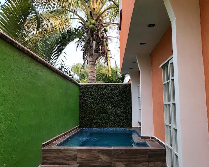 Casa de descanso, bonita en Cuernavaca Morelos
