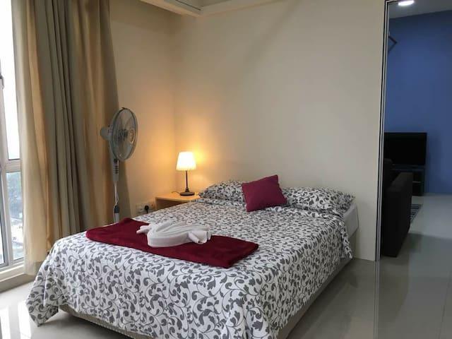 Room 2 -  Queen  bed