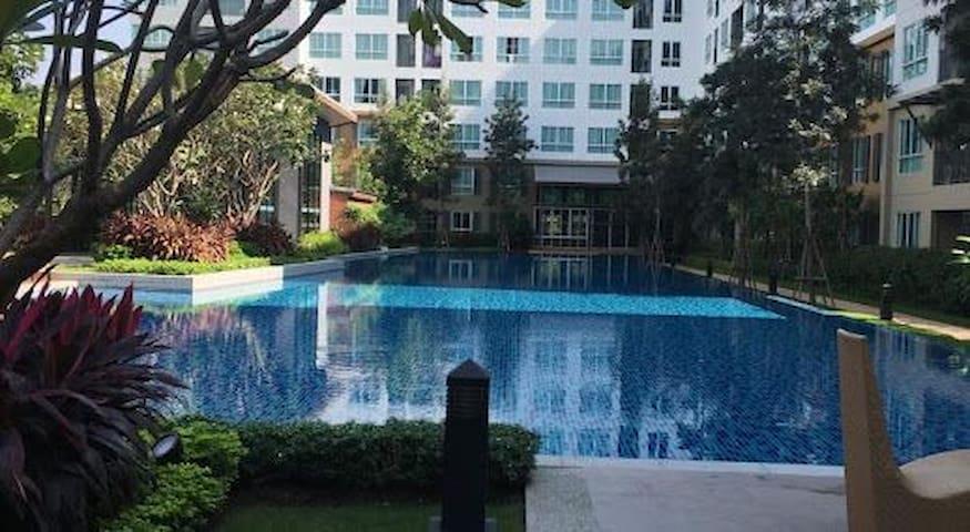 Suite condominium next to CentralFestival - Chiang Mai - Apto. en complejo residencial