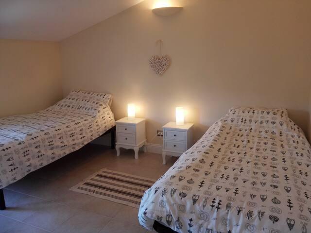 Bedroom 1 with walk in wardrobe