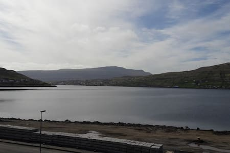 Fantastic view of land and sea - Runavik center