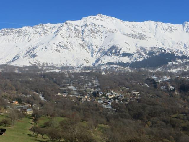 CHEZ ISAAC - CHALET AVEC VUE PANORAMIQUE - Saint-François-Longchamp - Chalet