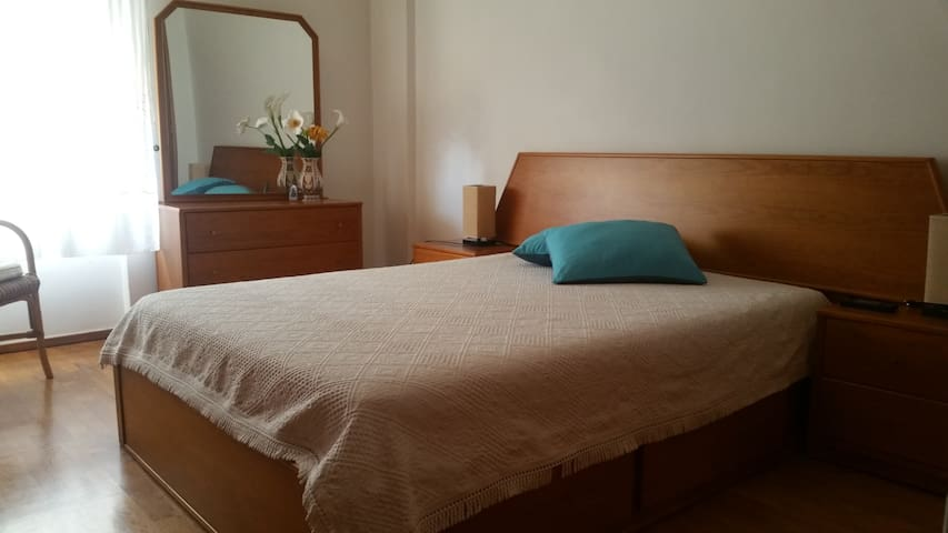Excellent location and comfy bedroom 2