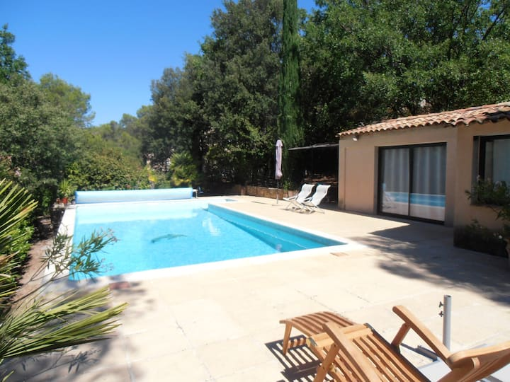House with one bedroom in Barjols, with private pool, enclosed garden and WiFi - 72 km from the beach