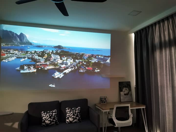 【PROJECTOR+ Netflix】@Green Haven〖 10min to JBCt〗