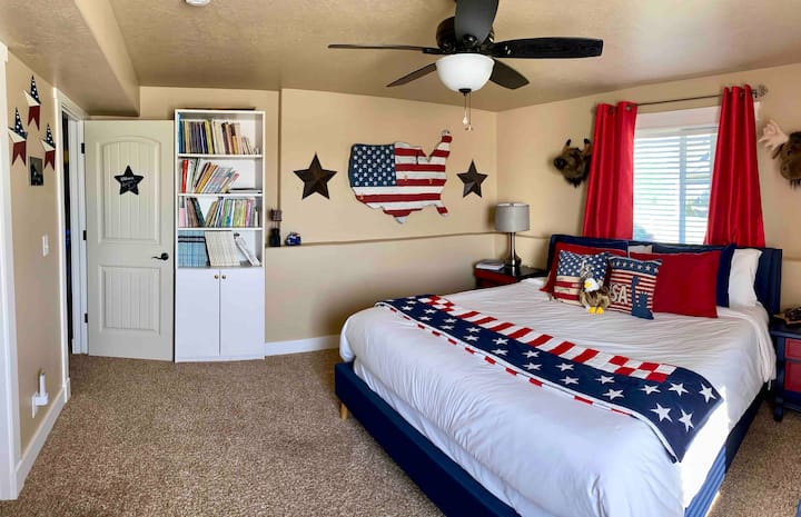 Patriotic Room with a view