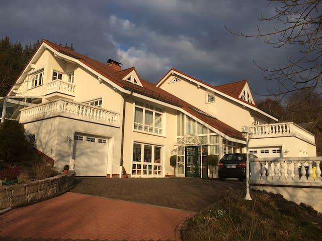 Herrliches Ambiente mit Blick ins Grüne - Ludwigsau - Casa de vacances