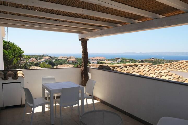 Appartamento 453 vista mare a Calasetta IUN E2384