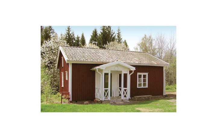 Awesome home in Vimmerby with WiFi and 1 Bedrooms
