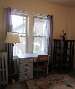 Cozy room; perfect location