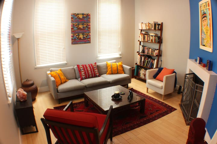 Colorful and Eclectic Home in Lafayette Square
