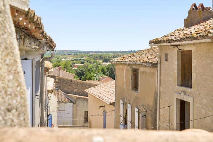 French village mediterranean life at its best