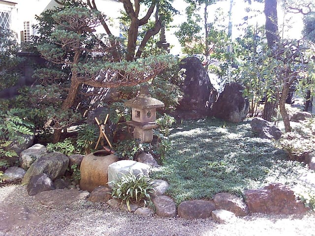 Big Flat & Traditional Japan Garden - Tachikawa - Apartmen