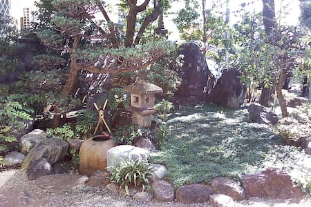 Big Flat & Traditional Japan Garden - Tachikawa - Apartament
