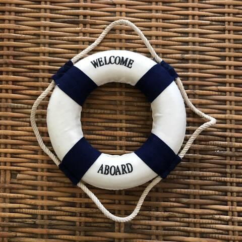 Benvenuti a bordo - Welcome aboard!