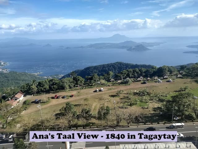 Ana's Taal Lake View at Tagaytay