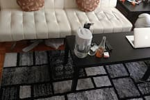 Furnished Master bedroom in Newport, Jersey City