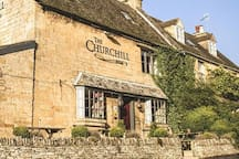 The Churchill Arms, Paxford with delicious food prepared by Chef/Proprietor Nick Deverill Smith, previously Junior Chef of the Year winner who has appeared on Saturday Kitchen and Great British Menu and whose previous job was Head Chef at Soho House.