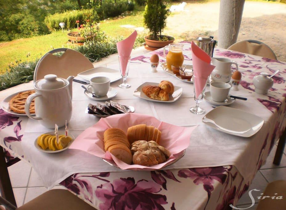 Tipica colazione