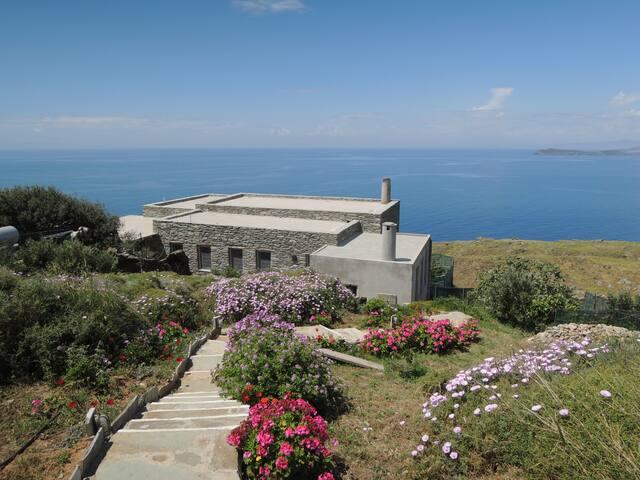 Sea Bird - Luxury Accommodation With a Sea Breath - Andros - Villa