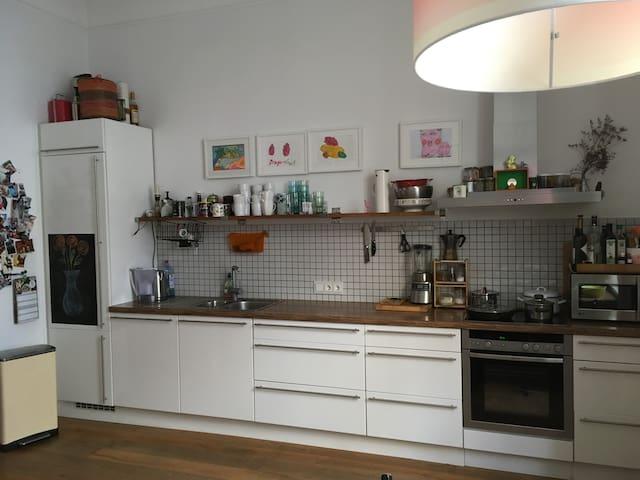 Big flat, 4 rooms, garden, parking, centrum - ケルン - アパート