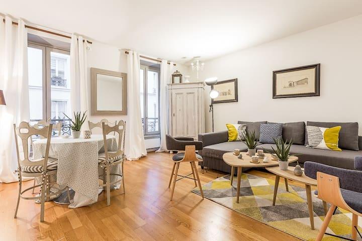 Charming Apartment Eiffel Tower / Invalides for 4 - Paris - Wohnung