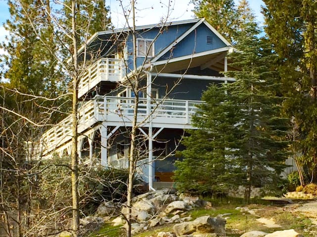 Bass Lake Vacation Rental with Dock - Bass Lake - Huis