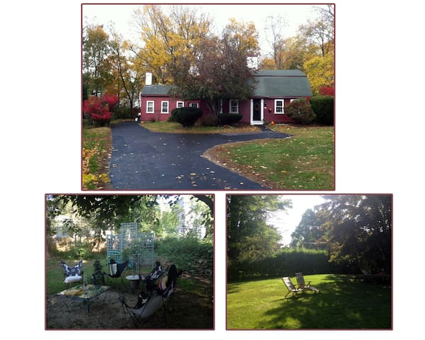 Bohemian Chic (midway between Boston & The Cape) - Middleborough - Haus