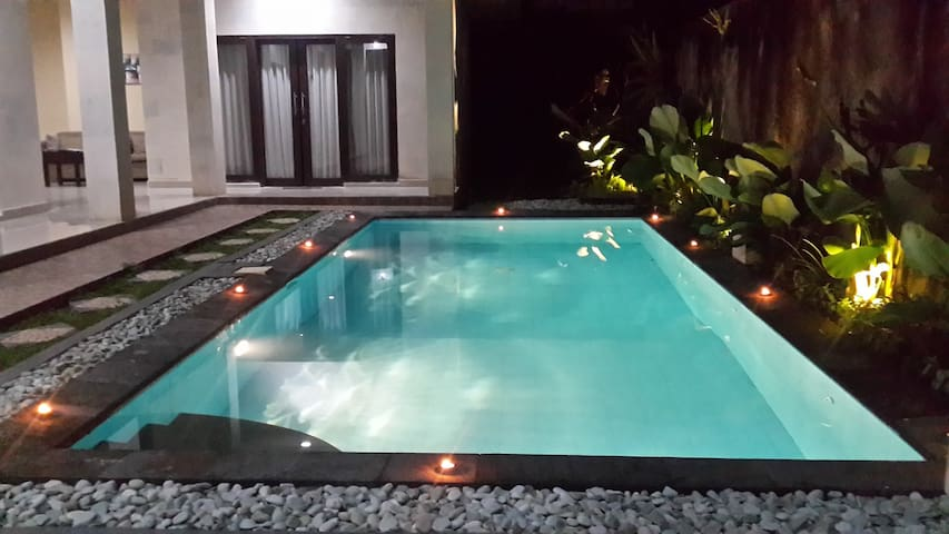 Relaxing, Spacious Villa with 3BR & Private Pool!