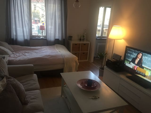 Cosy 1,5 bedroom apartment close to Stockholm C