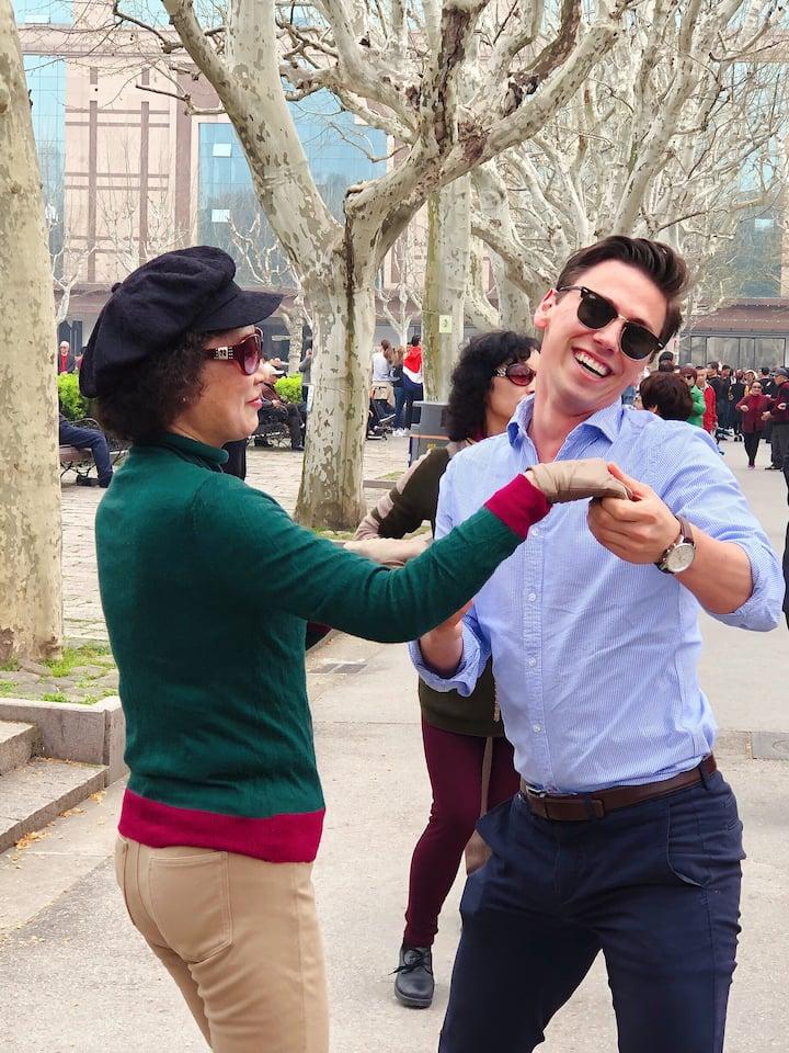 春日公园的舞蹈,让快乐感染每个人