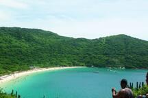 Uma das praias mais lindas de Arraial ( Praia do forno)