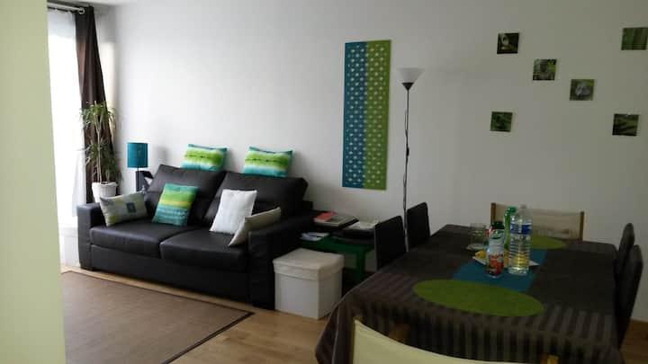 Logement proche d'accès. Calme propre et cosy