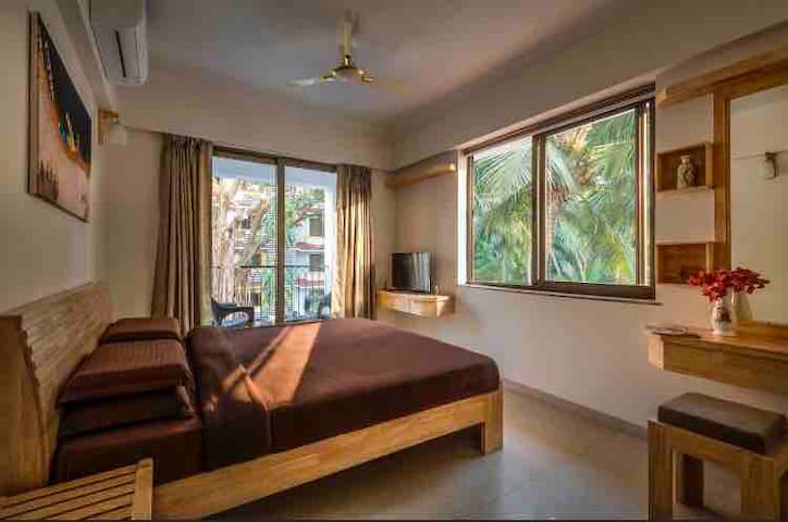 Beautiful 2 Bedroom Apartment at Candolim