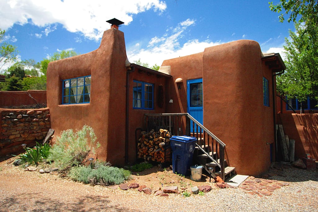 Inside compound, Front of Casita A