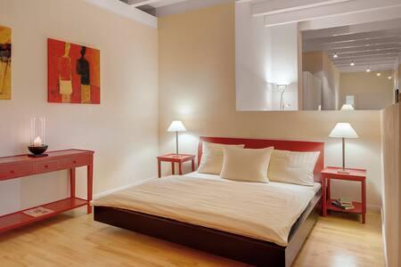 Schlafzimmer Villa Toskana