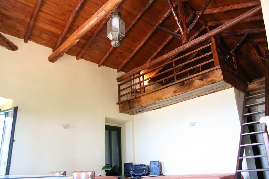 Main space interior