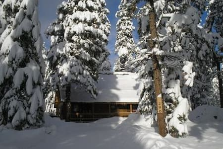 Reduced Rates!  Cozy Log Cabin in Woods!  /Ht Tub